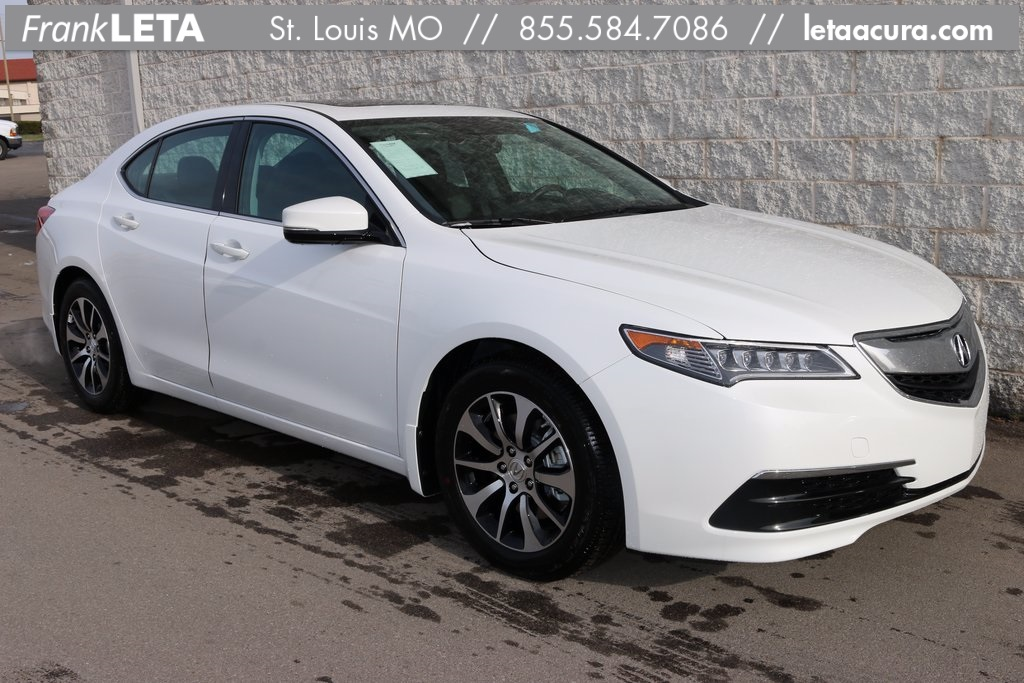 new 2017 acura tlx 2 4 8 dct p aws with technology package 4d sedan in st louis 70149 frank. Black Bedroom Furniture Sets. Home Design Ideas