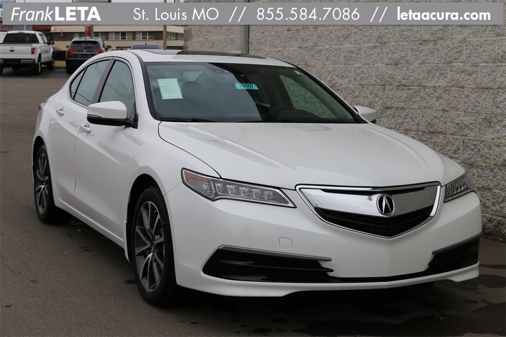 new 2017 acura tlx 3 5 v 6 9 at p aws with technology package 4d sedan in st louis 70507. Black Bedroom Furniture Sets. Home Design Ideas