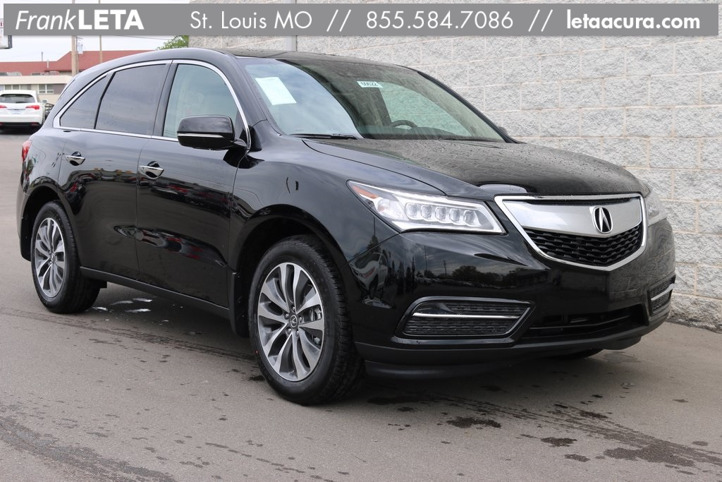 new 2016 acura mdx sh awd with technology package 4d sport utility in st louis 60622 frank. Black Bedroom Furniture Sets. Home Design Ideas